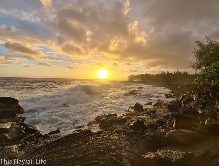 The Hawaiian sunset experience is also spiritual