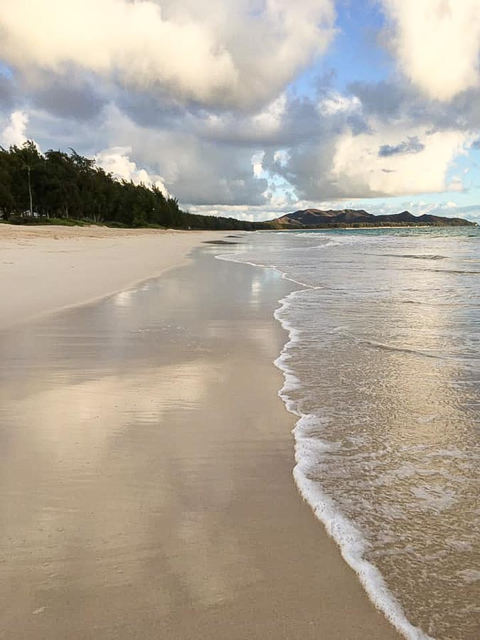 Beach day at Waimanalo