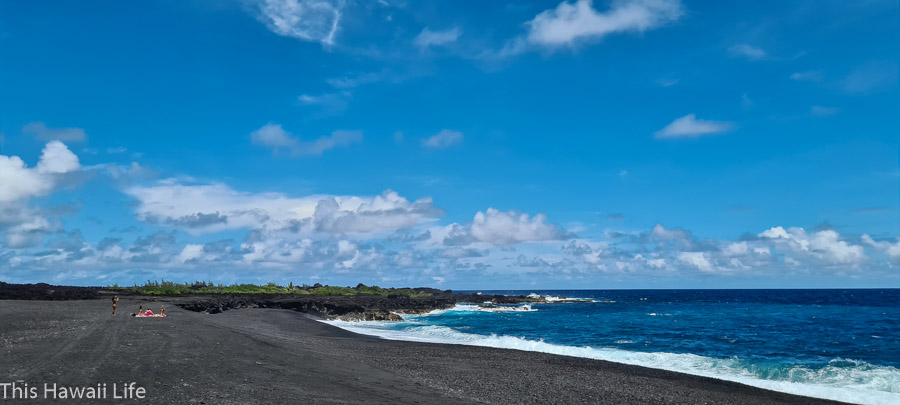 Black Sand Beaches of Hawaii – a complete guide of the all the black sand beaches on the Big Island