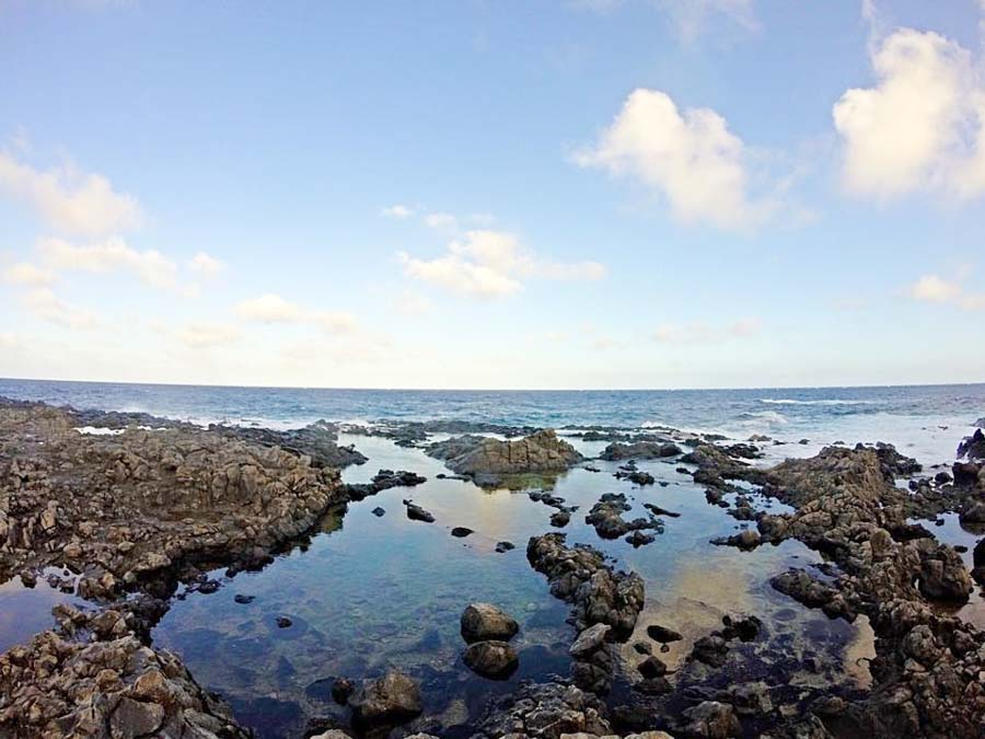 Makapu'u tidepools and blowhole