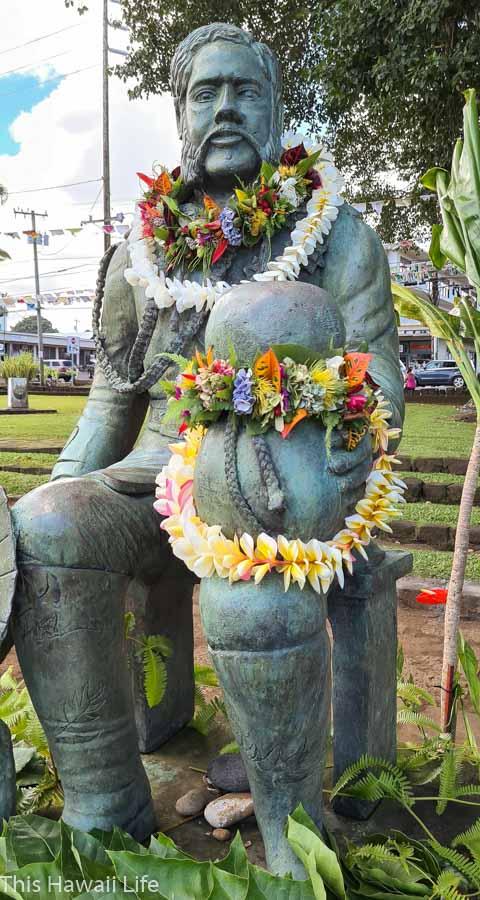Lei day in Hawaii