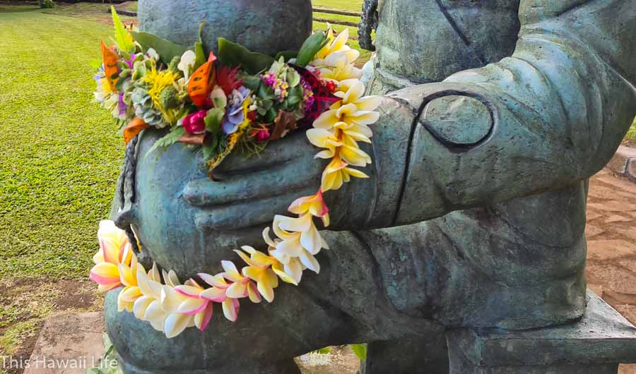 Have you visited Hawaii and received a Hawaiian Lei?