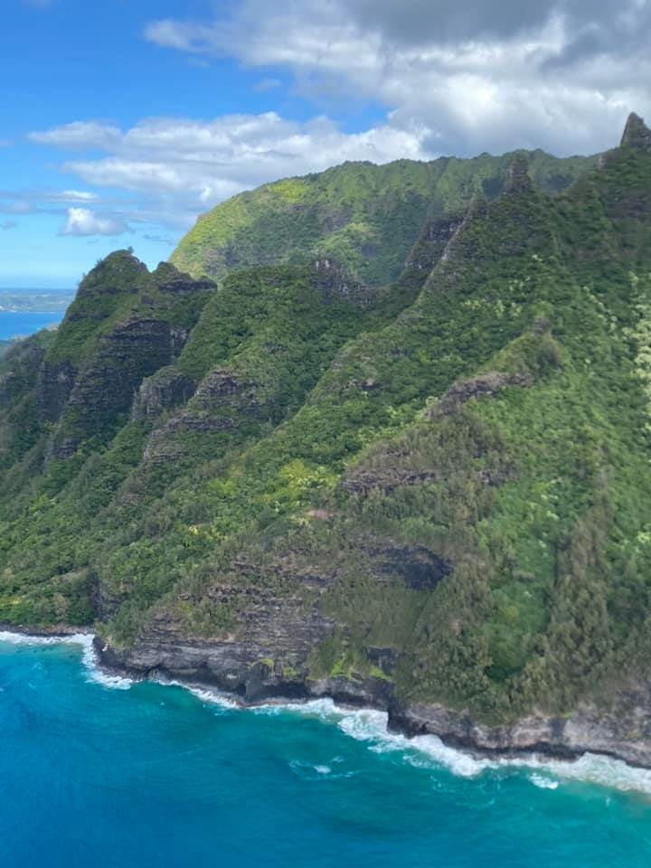 Ultimate Helicopter tour of the scenic Napali coast and Waimea Canyon