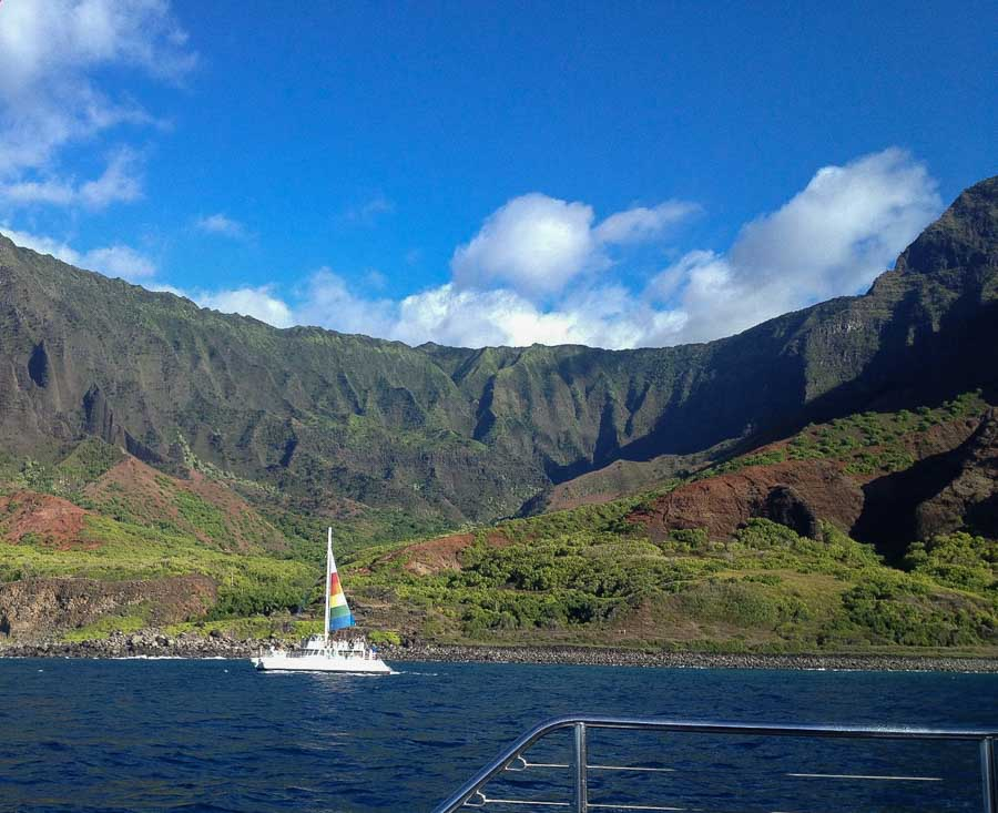Napali Snorkel and sail tour