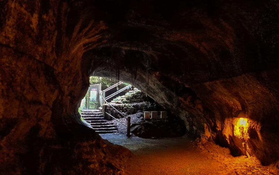 Exit to Nahuku Thurston Lava Tube