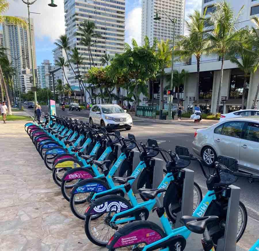 Bike rental with Biki