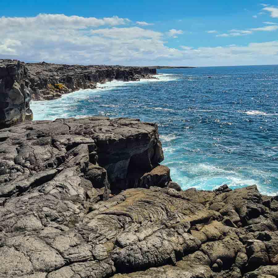 Hike Punalu'u to Kamehame Beach on the Big Island's south coast