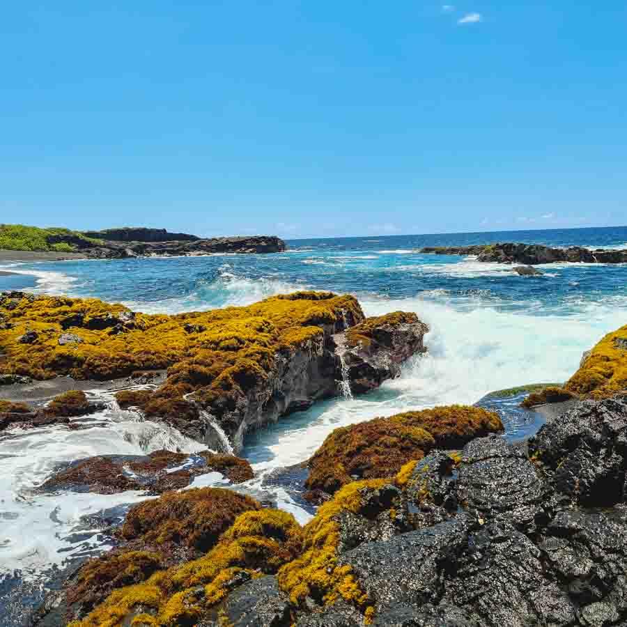Details to visiting Kamehame Beach