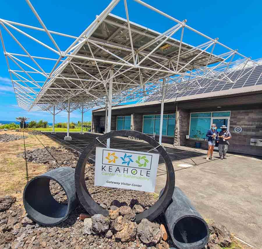 Hawaii ecotourism and sustainability tours on Hawaii Island