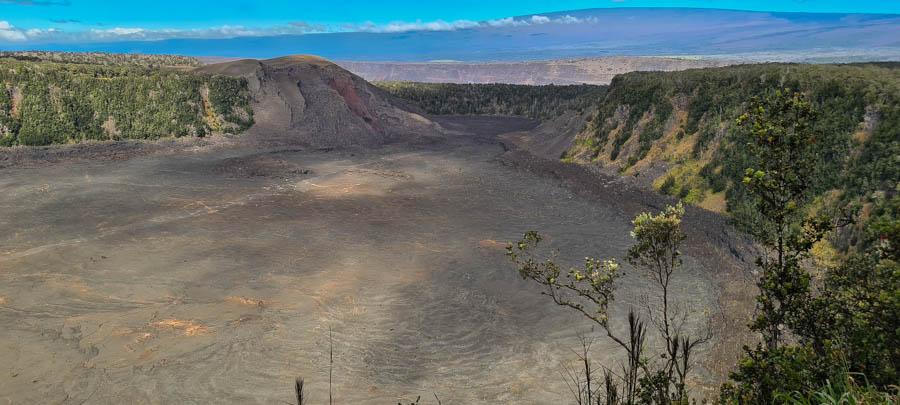 Kilauea Iki hike – at Volcanoes National Park
