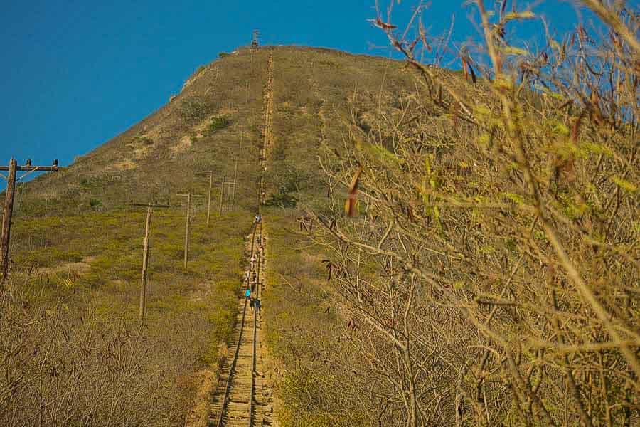 Koko Head Crater stairs hike